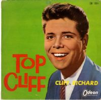 "Cliff Richard - Japan - Top Cliff (CW 1014) Rare 10"" LP - Red Vinyl"